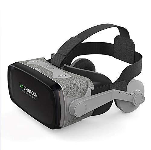 AZHom VR gafas de realidad virtual 3D estéreo de películas ojos inteligente dispositivo de Apple 11 teléfono Huawei mano P30 conexión inalámbrica plegable conveniente pantalla gigante experiencia de i