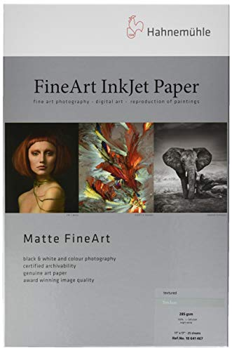 """Hahnemuehle Glossy FineArt Inkjet Paper Sample Pack DIN A3+ 14 Sheets 13x19/"""""""