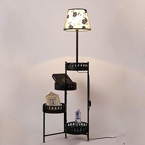 The harvest season- Boden Lampen Tuch Farbe Eisen Schreibtisch Lampe Schlafzimmer Couchtisch Chinesische Nachttisch Lichter A+