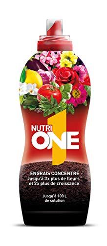 Abono líquido concentrado para todo tipo de Plantas y Flores. Fertilizante Premium...