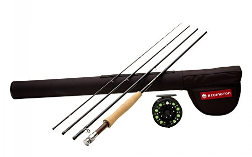Redington Fly Fishing Combo Kit 590-4 Path Ii Outfit with Crosswater Reel 5 Wt 9-Foot 4pc