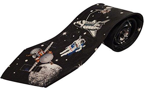 Cravate fantaisie - Astronaute et espace (TS 827)