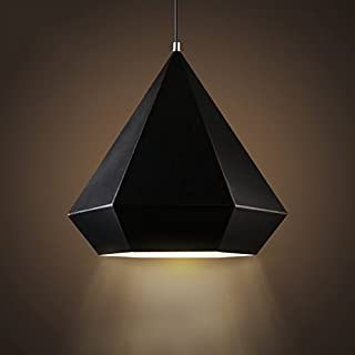 Personalized Art Geometric Diamond Iron Single Head Creative Lamps