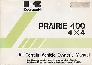 kawasaki prairie 400 owners manual