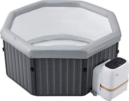 MSPAUK Tuscany Latest 2021 Mspa Portable Hot Tub Round Square 2/4/6...