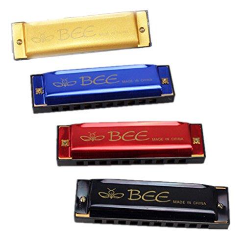 BEE 10 agujeros 40 tono C clave armónica boca organ instrumento musical juguete de regalo