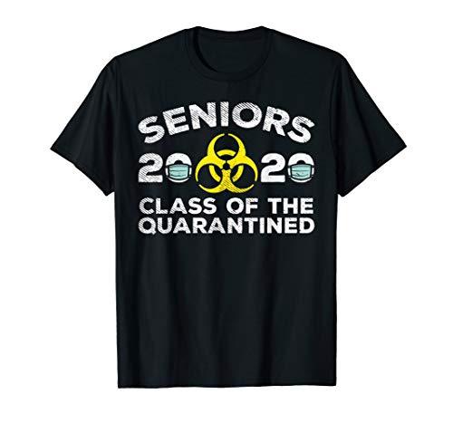 Seniors 2020 Class Of The Quarantined Funny Graduation Gift T-Shirt