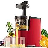 Exprimidor de la máquina, 700W jugo Wide Mouth Extractor Licuadora for el conjunto de frutas y verduras, sin BPA de la...