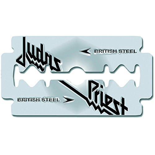 Judas Priest - British Steel Razor Blade (Spilla Metallo) Rock Merchan