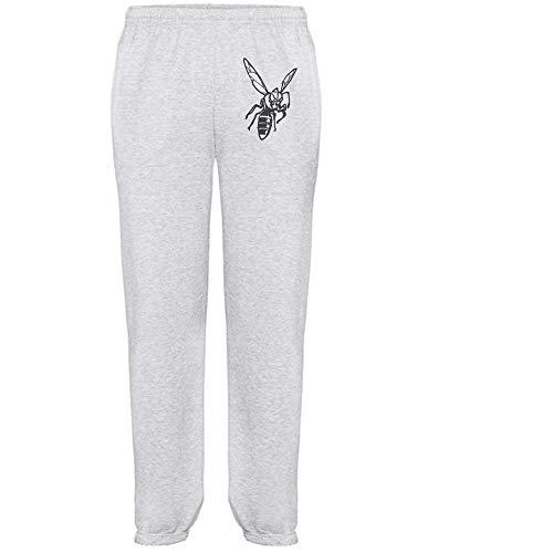 Azeeda Extra Groß 'Hornisse' Grau Joggeurs adultes / Pantalons de survêtement / Fonds (JO00114008)