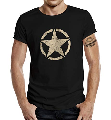 Classic T-Shirt für den US-Army Fan: Vintage Star 3XL