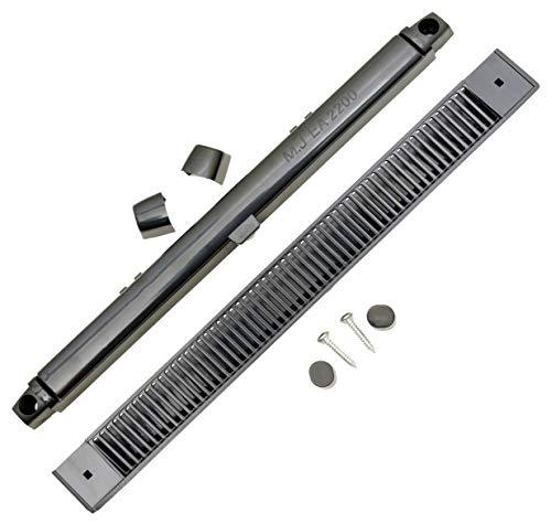 264 mm EA2200 grau MJ2000 Trickle Slot Vent für uPVC, Holz, Vinyl und Aluminium Fenster verhindert Kondensation, Feuchtigkeit und Schimmel durch Belüftung