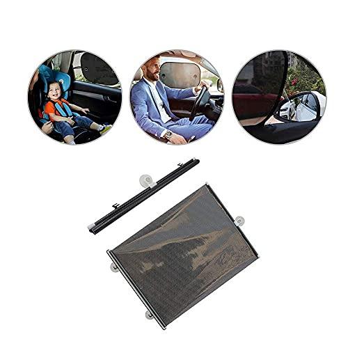 Parasol para coche para niños, parasol para coche, parasol para coche, protector solar para coche, parasol para ventana de coche, parasol para ventana de coche, color aleatorio, 23,6 * 15,75 pulgadas