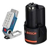 Bosch Professional LED Akku Lampe GLI 12V-330 (12 V, 330 Lumen, Betreibszeit: 180 min/Ah, im Karton)...