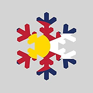 Best Colorado Flag Snowflake Sticker of 2020 – Top Rated & Reviewed