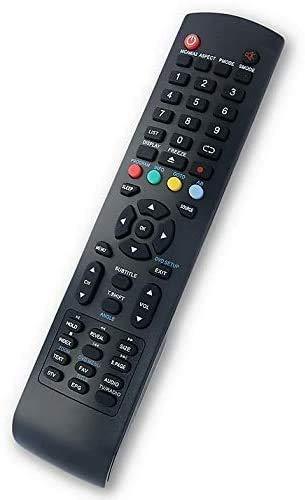 Mando a Distancia para TV INVES LED-3218 Smart, LED-3218 T2, LED-2418 T2, LED 1916GR, LED 4614 FHD GR, 4915 FHD GR, LED-1820
