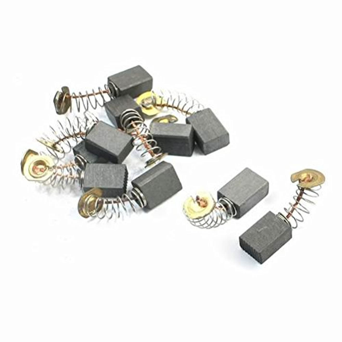 Motors 10Pcs Electric Drill Parts Motor Carbon Brushes 12.4mm x 9mm x 6mm By DYTrade