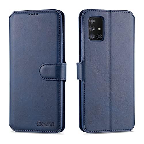 Teléfono Flip Funda Para Samsung Galaxy A51 Teléfono Teléfono Cuero Cartera Teléfono Funda Teléfono Flip Funda Teléfono Shockpoof Teléfono Funda Para Samsung Galaxy A51 Tapa trasera del teléfono intel
