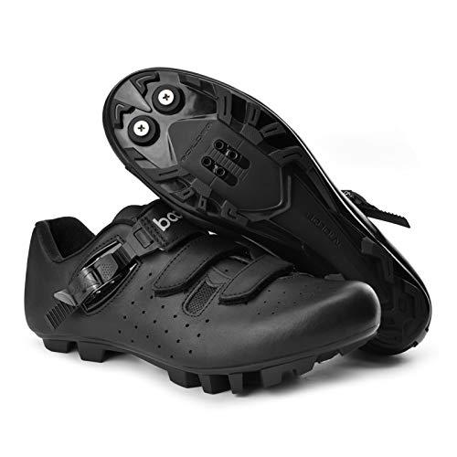 Zapatillas De Ciclismo para Hombres Y Mujeres, Zapatillas De Ciclismo De Carretera Profesionales Antideslizantes, Zapatillas De Bicicleta De Refuerzo Ultraligeras Y Transpirables para Exteriores