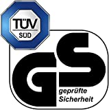 SportPlus Gartentrampolin, TÜV GS geprüft, Sprungtuch ca. 305cm, schweißnahtfreie Rahmenkonstruktion, abnehmbares Sicherheitsnetz, inkl. Randabdeckung, Nutzergewicht bis 120kg - 2