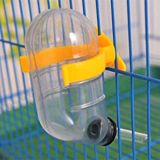 Pet Supplies Pet Leak-Proof Water Bottle Cute Hamster Convenient Automatic Drinking Device for Small Pets, Capacity: 50ml, Random Color Delivery
