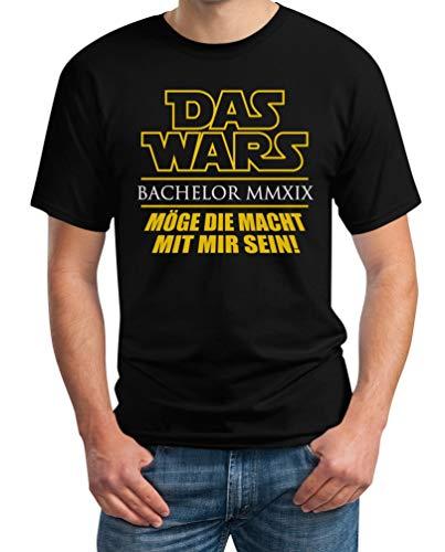 Uni - Das Wars - Bachelor - Geschenk zum Abschluss Herren T-Shirt Large Schwarz