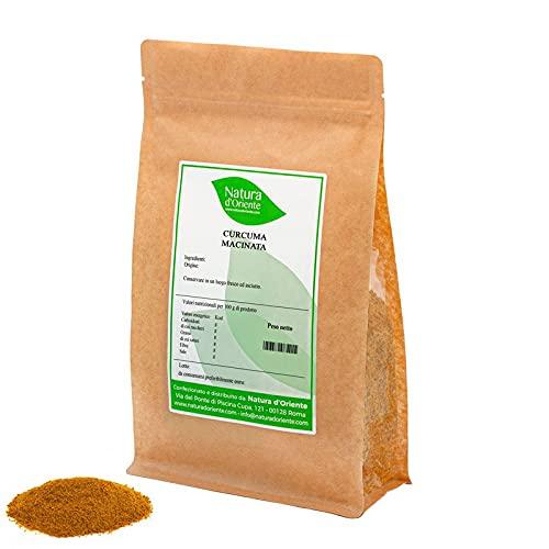 NATURA D ORIENTE - Curcuma in polvere 1000g | Prima qualità 100% Purissima