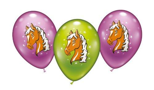 Karaloon 30026 Luftballons mit Pferdemotiv