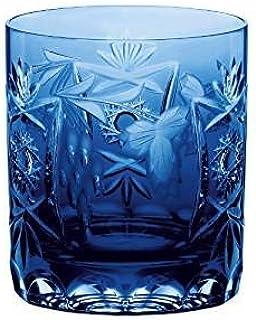 Nachtmann Vorteilsset 6 x 1 Glas/Stck Whisky pur 3263/9cm Traube kobalt 35894 und Gratis 1 x Trinitae Körperpflegeprodukt