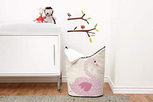 3 Sprouts Book Rack Kids Storage Shelf Organizer Baby Room Bookcase Furniture,Elephant//Pink