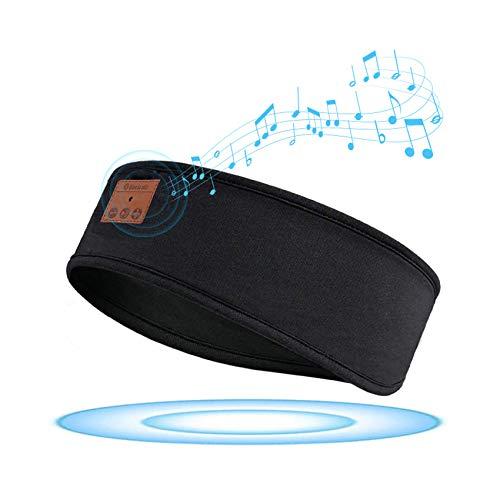 GeekerChip Auriculares para Dormir,Bluetooth V5.0 Deportes Diadema,Sleepphones inalámbricos con Ultrafinos HD Estéreo Altavoces,perfectos para Dormir de Lado,Viajes Aéreos,Insomnio,Meditación