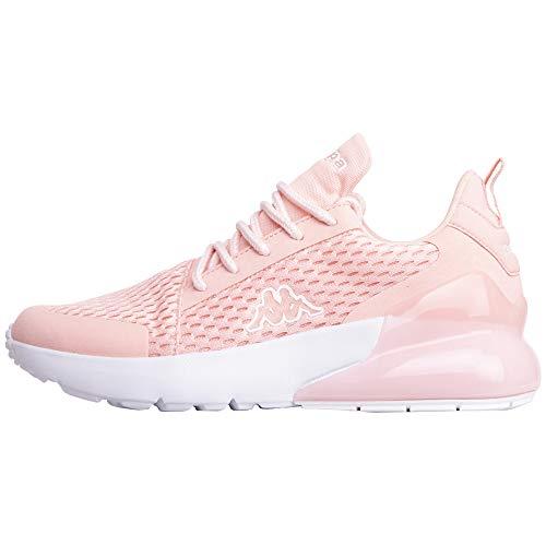 Kappa Damen Colp Sneaker, Rot (Rosé/White 2110), 38 EU
