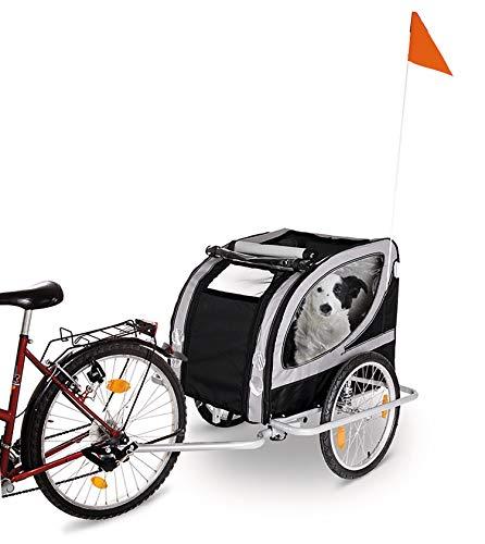 Karlie Doggy Liner Paris De Luxe Teflon® L: 148 cm B: 90 cm H: 88 cm grau-schwarz