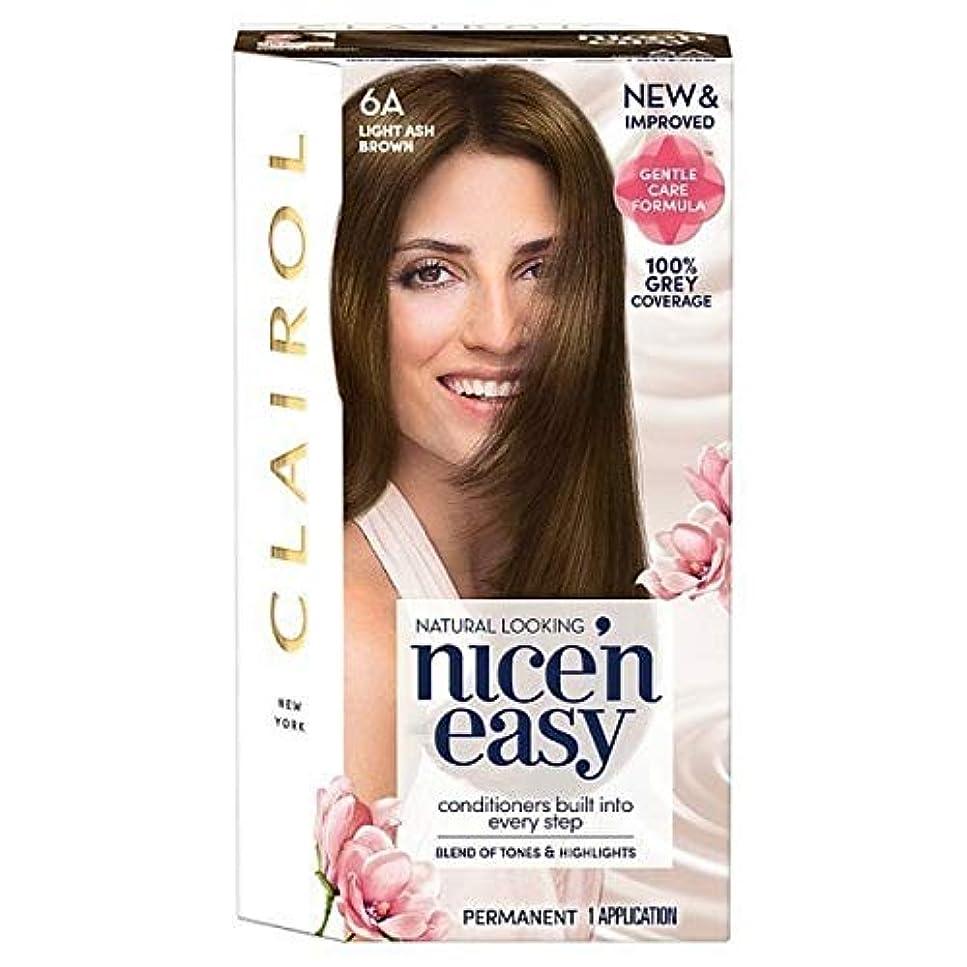 公平ジャーナリスト悲観主義者[Nice'n Easy] Nice'N簡単な図6Aライトアッシュブラウン - Nice'n Easy 6A Light Ash Brown [並行輸入品]