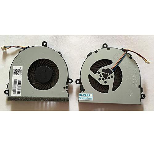 SYW·pcparts Repuesto de ventilador de refrigeración de CPU compatible HP Pavilion TPN-C125 TPN-C126 TPN-C130 HQ-TRE HP 250 G6 255 G6 Series, 4-Pin SPS 813946-001