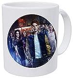 American TV Riverdale Collar Viper Patrón de vidrio Cabujón encanto collar rolder bolsa accesorios coche Fans taza café