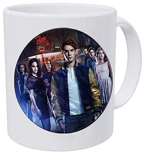 American TV Riverdale Halskette Viper Muster Glas Cabochon Charm Halskette Rolder Tasche Autozubehör Fans Kaffeetasse