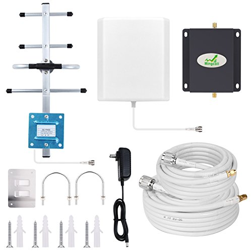 Verizon Cell Phone Signal Booster 4G LTE 700MHz Band 13 Cell Signal Booster Verizon FDD Signal Ampliifer Repeater for Home and Office with Antenna Kits Mingcoll Boost 4G Data Speed