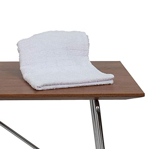 kit 40 Toalha de Rosto Premium para Salao de Beleza, Spas, Clinicas Branca