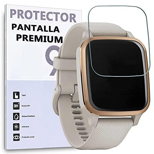 REY 6X Protector de Pantalla para Garmin VENU SQ, Protección Premium (Pack de 6)