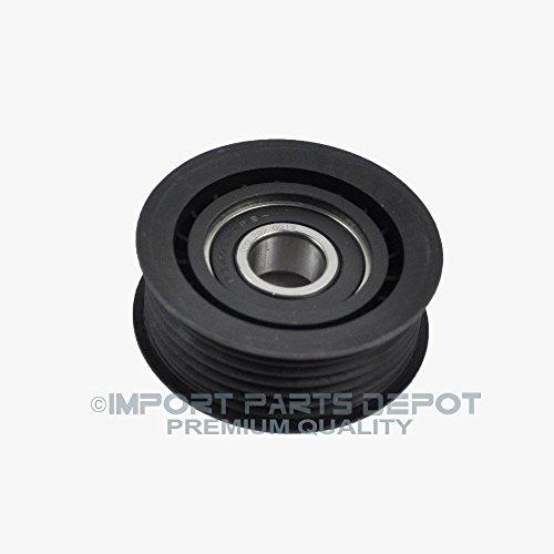 New Drive Belt Idler Pulley for Mercedes C240 C280 C320 C43 CL500 CL55 CLK320 CLK430 CLK500 CLK55 S350 CLS500 E430 E320 E500 G500 ML320 ML350 ML430 ML500 R500 S430 S500 SLK320 SLK55 Premium 0002020919