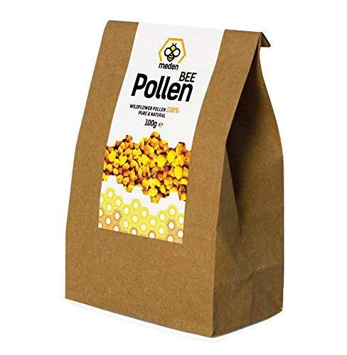 Orgánico Premium 100% Crudo Búlgaro Polen de Abeja Granules100g