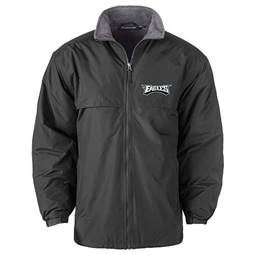 NFL Philadelphia Eagles Triumph Fleece Lined Mid Weight Jacket, Large, Forest
