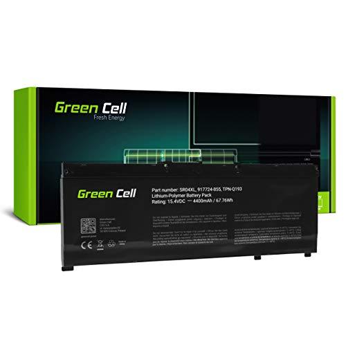 Green Cell Batería para HP Omen 15-CE020NO 15-CE020NS 15-CE020NU 15-CE020NW 15-CE020TX 15-CE021NA 15-CE021NB 15-CE021NF 15-CE021NG 15-CE021NL 15-CE021NO Portátil (4400mAh 15.4V Negro)