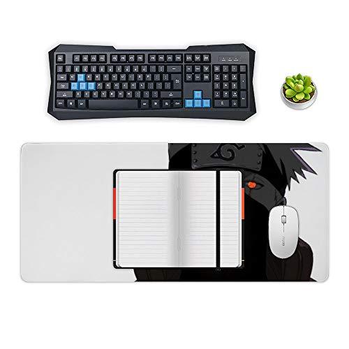 Naruto Mouse pad,Naruto Kakashi Mangekyou Sharingan (1),Large Gaming Mouse Mat,Desk Mat,Waterproof Anti-Dirty Anti Slip Lockrand Mousepad,Perfect for Computers,50x120cm 19.6x47.2 inch Photo #4