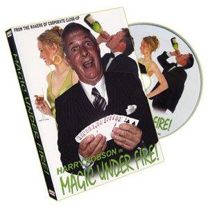 Harry Robson DVD Magic Under Fire