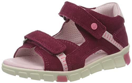 Ecco Baby Mädchen MINISTRIDESANDAL Sandalen, Violett (Red Plum 5293), 24 EU
