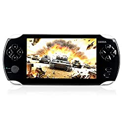 "commercial MUS RUN Handheld Game Console, 16 GB Handheld Game Console 5 ""2500 Screen Classic Games, … handheld video console"