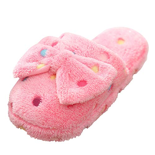 Great Features Of ZOMUSAR Slipper Womens New Bow Cotton Slippers Ladies Cute Winter Warm Indoor Non-...