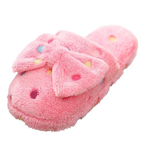 acction Zapatillas de Invierno para Mujer, Arco Suave y cálidas Antideslizantes Pantuflas de Espuma de Memoria,Interiores y Exteriores 36-41